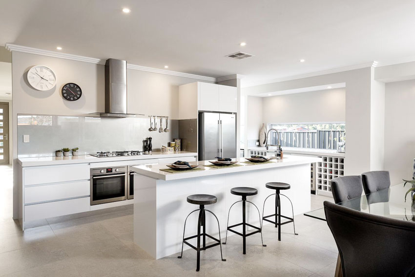 electrical work completed in residential kitchen